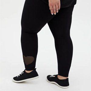 Torrid Premium Legging - Heart Cutout Hem Plus 2X